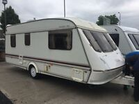 Elddis Cyclone GTX 5-6 Berth Family Layout. Top of the Range, All Mod Cons. Superb Value Just £1995