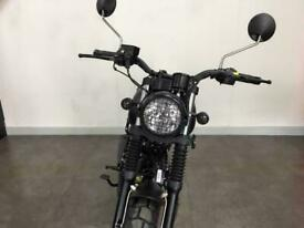 Mutt FSR 125 2020 Matt Black 125cc Learner Legal Motorbike
