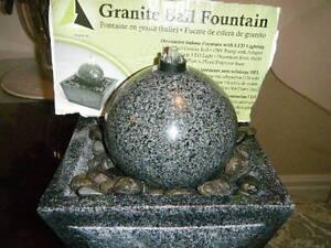 GRANTE ball WATER fountain