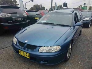 2001 Holden Commodore VX II Lumina Blue 4 Speed Automatic Wagon Greenacre Bankstown Area Preview