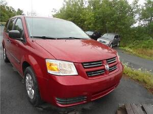 2008 DODGE CARAVAN WITH ONLY 123000 KM ! JUST INSPECTED..