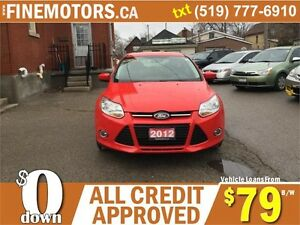2012 FORD FOCUS SE HATCHBACK * EASY ON GAS * FINANCING AVAILABLE London Ontario image 3