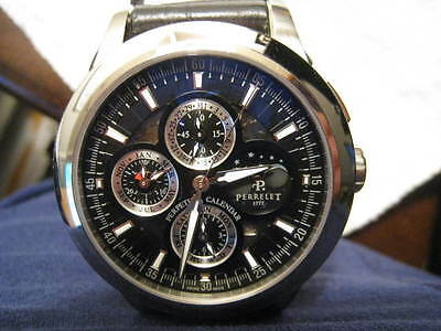 Perrelet Perpetual Calendar Flyback Chronograph Special Limited Edition A1058/1