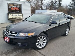 2006 Acura TSX WOW LOW KM JUST TRADED IN READY FOR THE ROAD
