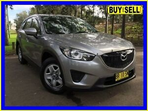 2012 Mazda CX-5 Maxx (4x2) Silver 6 Speed Automatic Wagon Lansvale Liverpool Area Preview