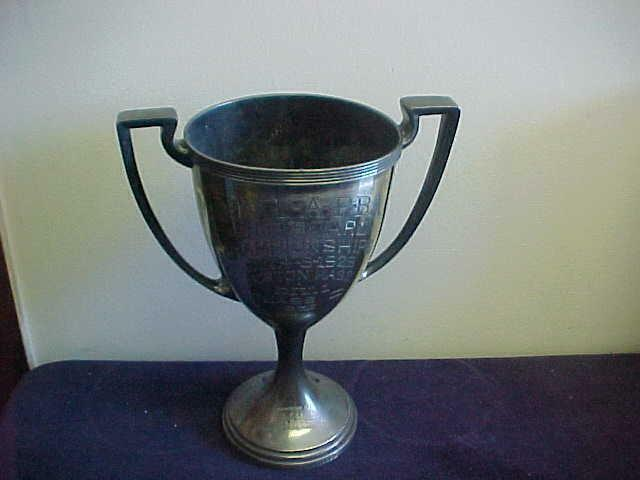 1929 NATIONAL AMERICAN POWER BOAT ASSOCIATION CHAMPIONSHIPS LOVING CUP