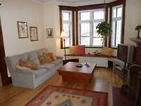 NDG: Great fully FURNISHED spacious bright 6 1/2 monthly rental