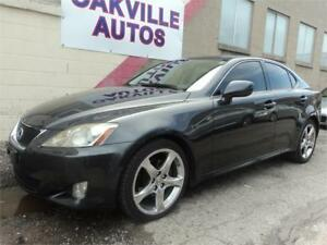 2007 Lexus IS 250-PUSH BUTTON START-SUNROOF- RWD SAFETY INC
