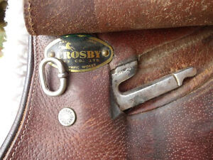 "17"" Crosby English Saddle Penticton Kelowna image 7"