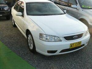 2006 Ford Falcon BF Futura White 4 Speed Auto Sports Mode Wauchope Port Macquarie City Preview