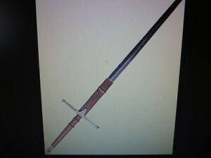 WANTED -  BRAVEHEART SWORD