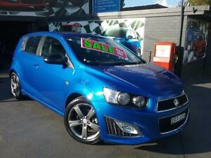 2015 Holden Barina TM MY15 RS Blue 6 Speed Automatic Hatchback Greenacre Bankstown Area Preview