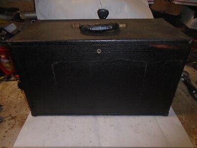 Machinist Lathe Mill Machinist Oak Tool Box Material Covered