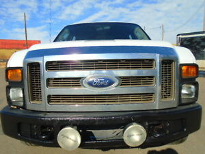 2008 FORD SUPER DUTY F-350 SRW XL--CREWCAB-ONE OWNER TRUCK