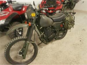 1986 ARMSTRONG 500 ON/OFF ROAD BRITISH MILITARY BIKE! $4995!!