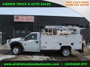 2013 Ford F-550 DRW XLT VMAC 5005EH Crane Aluminum Service Box