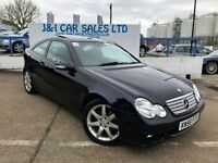MERCEDES-BENZ C CLASS 2.1 C220 CDI SE SPORTS 3d AUTO 148 BHP 9 SERVICES (blue) 2007