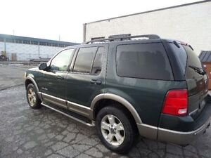 Ford Explorer 4X4 Top Of The LIne Eddie bouer 7 PASS