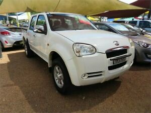 2009 Great Wall SA220 Super Luxury Silver 5 Speed Manual Utility Minchinbury Blacktown Area Preview