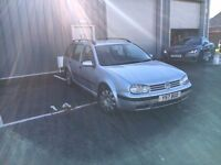 VW Golf Estate TDI, 12 Months MOT, Tow-Bar, Trade-in to Clear