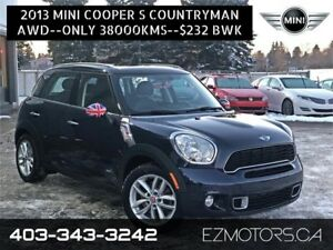2013 MINI Cooper Countryman S ALL4|TECH PKG!only 38k!