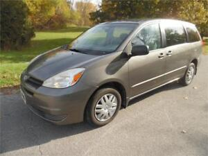 2004 Toyota Sienna CE. Clean. Accident Free. Great Van $3800.00