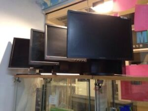 "Lenovo 17"",24""  LED Monitors,DELL 19"" LCD Monitors for sale"
