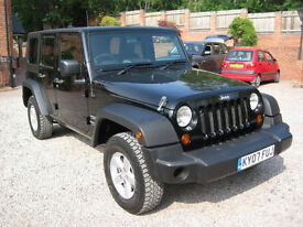 2007 07 Jeep Wrangler 2.8 CRD Sport LWB Hard Top Convertable