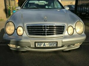 2001 Mercedes-Benz CLK320 Silver Automatic Cabriolet Dandenong Greater Dandenong Preview