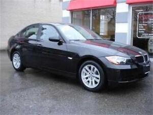 2006 BMW 325 6SPEED MANUAL BLACK ON BLACK