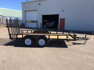 "NEW 2017 CARRY-ON 82"" x 14' LANDSCAPE TRAILER"