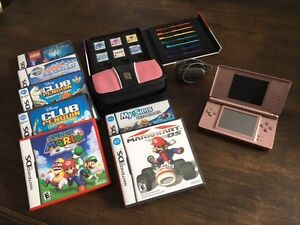 Nintendo DS lite and games