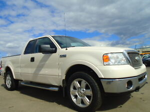 2007 Ford F-150 LARIAT-4X4-LEATHER-SUNROOF-CLEAN ONE OWNER TRUCK