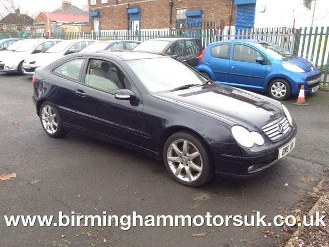 2004 04 reg mercedes c class c320 sport coupe se for 2004 mercedes benz c class hatchback