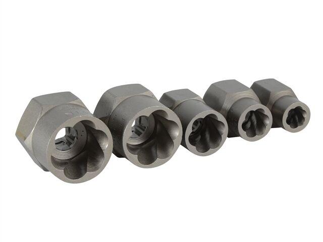 Irwin Bolt Grip 5 Piece Bolt Fastener Remover Set 8, 10, 13, 16, 19mm 10504635