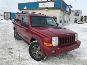 JEEP COMMANDER 2006 4X4 7 PASSAGERS / MAGS/ GROUPE ELECTRIQUE