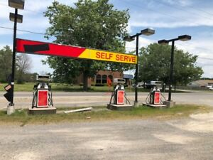 Gas station and 2 of 2 bedrooms apartment business for sale