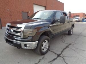2014 Ford F-150 4WD SUPERCREW ***CEAN CARPROOF***LOW KM'S***