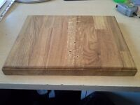 Solid Wood Chopping Board Oiled Ready To Use - SOLID OAK