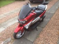 Yamaha N-Max 125 Scooter 2017 March Registered. Only 500 miles Red. Great Condition