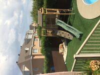 kids exterior treehouse playhouse maisonette exterieur