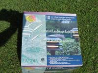 New in Box Landscape Garden Lights