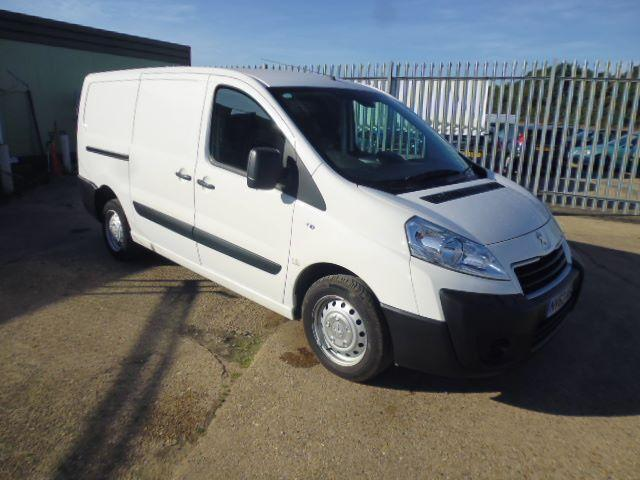 Peugeot Expert L1 1000 1.6 HDI 90BHP H1 Van DIESEL MANUAL WHITE (2013)