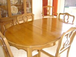 Fruit Wood Dining Room Suite for Sale - Pickering - $600.