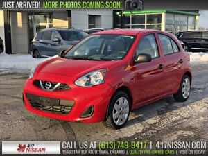 2017 Nissan MICRA S | Air Conditioning, Cruise
