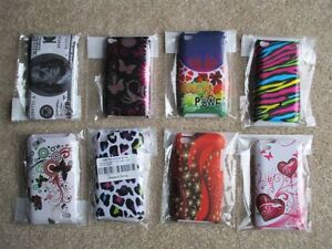 ipod touch 4 Case's 1 & 2pc  - Brand new