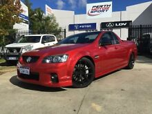 2011 Holden Commodore VE II SS-V Redline Edition Burgundy 6 Speed Manual Utility Beckenham Gosnells Area Preview
