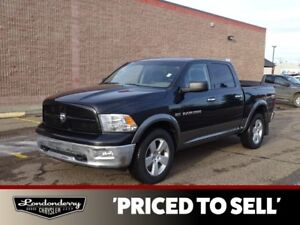 2011 Ram 1500 4WD CREWCAB OUTDOORS Sunroof,  Bluetooth,  A/C,