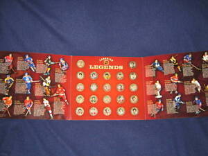 2004 Canadian Legends Medallion Collection