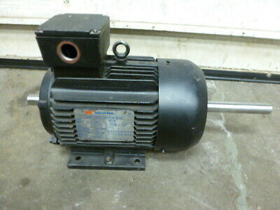 Ingersoll-rand Metric Double Shaft Air Compressor Motor 3 Phase 4 Kw